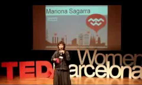Conferencia de MARIONA SAGARRA al TEDxWOMEN Barcelona 2012